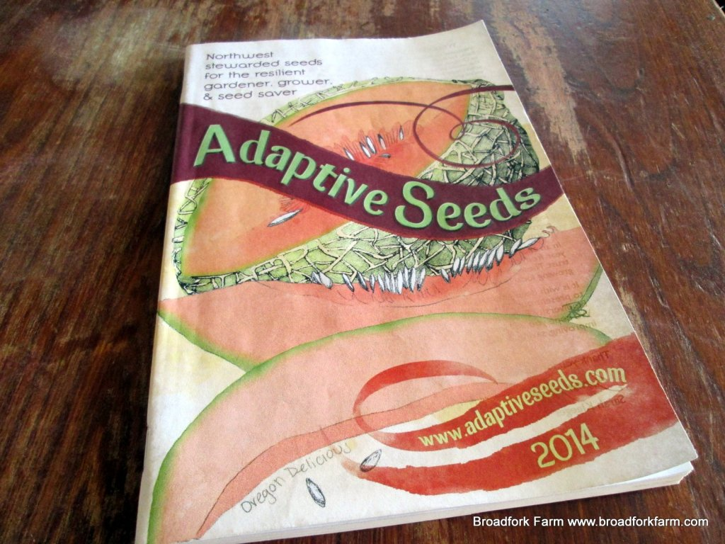 Adaptive Seeds catalogue